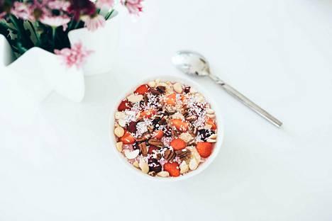 Smoothie bowl on herkullinen aamu- tai välipala.