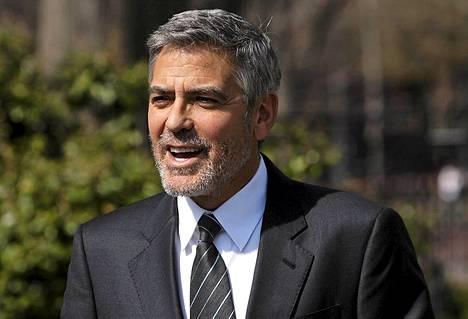 George Clooney on Obaman miehiä.