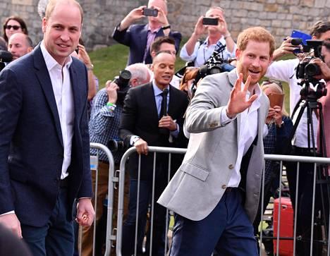 Williamin ja Harryn on uskottu pitkään olevan loistavissa väleissä ja pitävän aina yhtä.