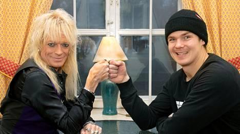 Michael Monroen ja Pekka Hyysalon ystävyys alkoi vuonna 2014.