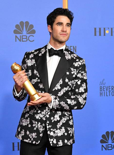 Darren Criss voitti roolistaan Golden Globen.