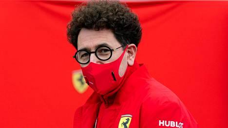 Mattia Binotto yllättyi Ferrarin kehitysten toimivuudesta.