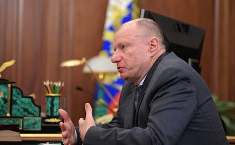 Vladimir Potanin on Norlisk Nickel -konsernin pääomistajia.