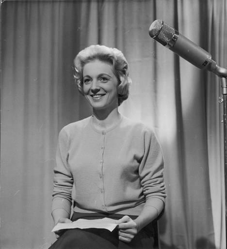 Teija Sopanen vuonna 1957.