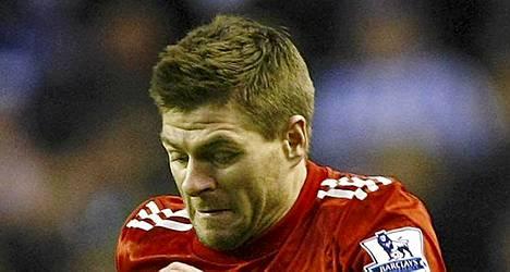 Steven Gerrard olisi mieluusti Englannin seuraava kapteeni.