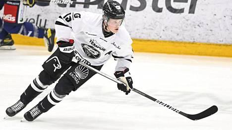TPS:n Juuso Pärssinen iski ottelun ainokaisen HPK:ta vastaan.