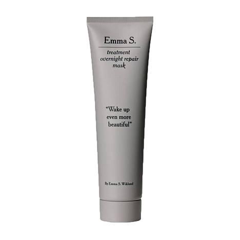 Emma S. Treatment Overnight Repair Mask -naamiossa on muun muassa peptidejä. 35 €, Kicks.