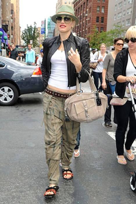 6. Laulaja Gwen Stefanin tyyli huomattiin.