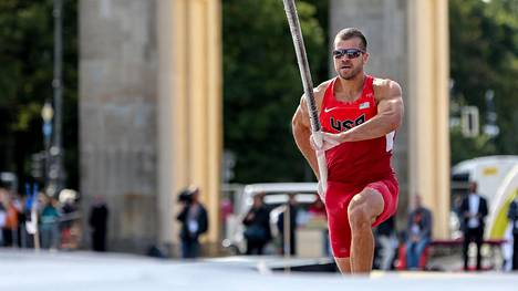 Mark Hollisin pääsy Rio de Janeiron olympialaisiin on epävarmaa. Kuva viime vuodelta.