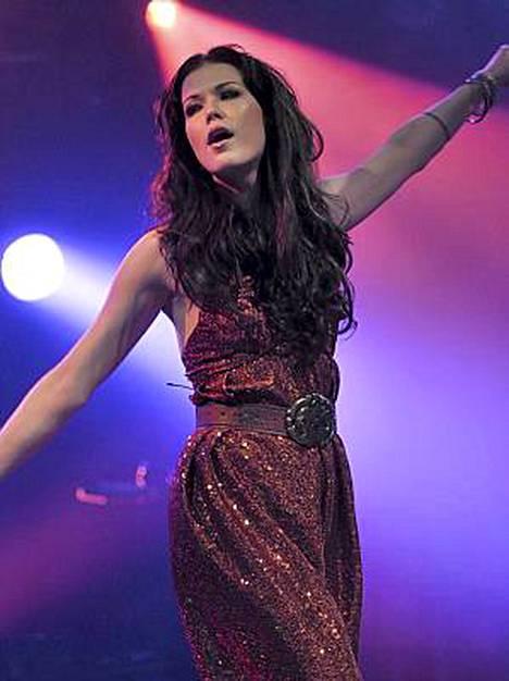 Jenni Vartiainen oli Provinssirockin toiseksi viimeisin esiintyjä.