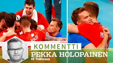 Tuomas Sammelvuo teki torstaina Tokiossa suomalaista urheiluhistoriaa viemällä Venäjän loppuotteluun.
