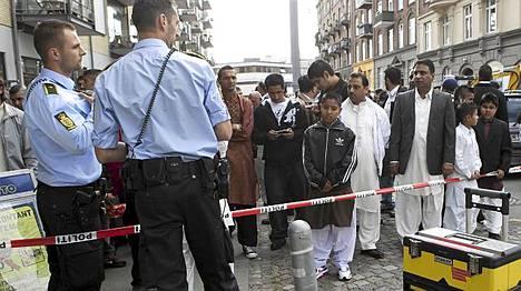 Tapaus sattui Vesterbron kaupunginosassa.
