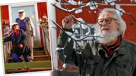 Runoilija Kai Nieminen ehti kotiin vain muutama tunti ennen vaimonsa kuolemaa