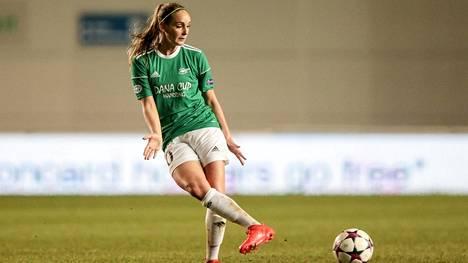 Nora Heroum pelasi tanskalaisessa Fortuna Hjorringissa ennen siirtymistään Italiaan.