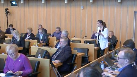 Tampereen kaupunginvaltuusto keskusteli kuntataloudesta aamuyhdeksästä alkaen.