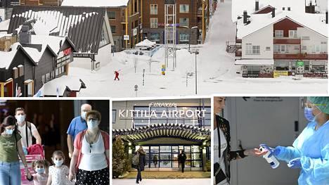 Lapin matkailua varten aiotaan rakentaa erillisiä matkailukäytäviä talvisesonkiin.