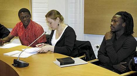 Donewell Yoben ja Dominic Yoben asiaa käsiteltiin Oulun käräjäoikeudessa.