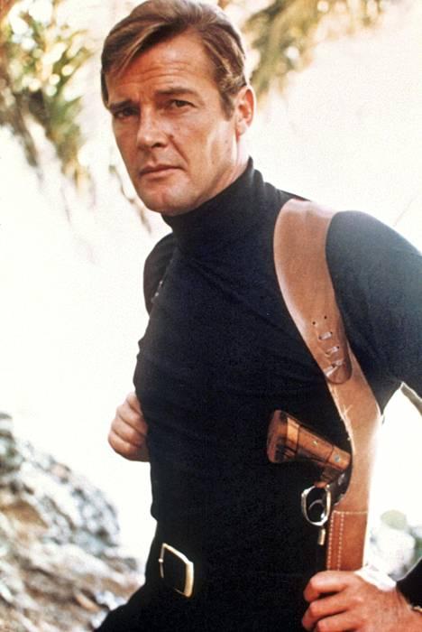 Roger Moorea kaavailtiin jo elokuvaan Salainen agentti 007 ja tohtori No (1962), mutta hän päätyi James Bondin saappaisiin vasta seuraavalla vuosikymmenellä.