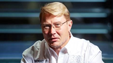 Mika Häkkinen kuvattuna vuonna 2018.