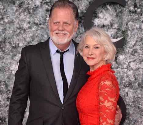 Helen Mirren ja hänen aviomiehensä, ohjaaja Taylor Hackford.