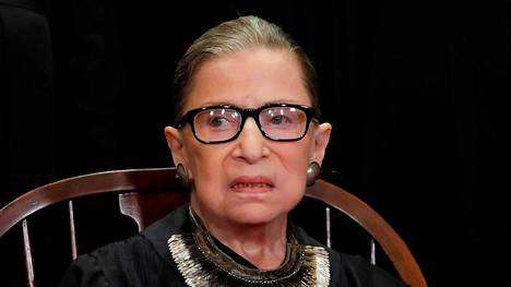 Ruth Bader Ginsburg 1933–2020.