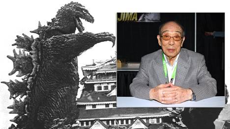 Haruo Nakajima veti Godzilla-puvun ylleen ensimmäistä kertaa 1950-luvun alussa.