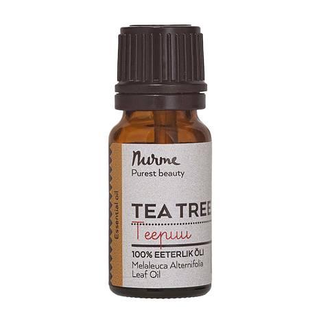 Nurme Tea Tree Essential Oil -öljy, 8,50 € / 10 ml.