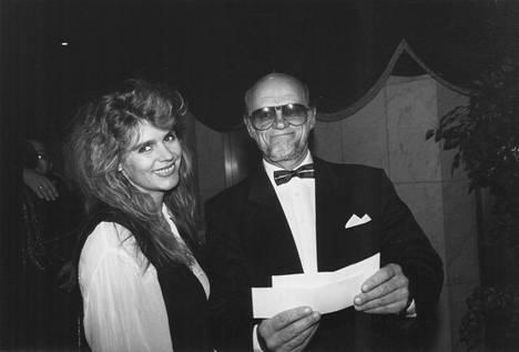 Riitta Väisänen ja Pertti Pasanen vuonna 1993.