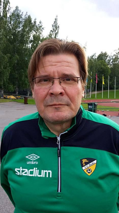 Markku Palmroos kuvattuna kesäkuussa 2015.