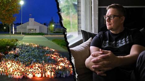 Pasi Kotilainen menetti puolisonsa Kauhajoen koulusurmissa syyskuussa 2008. EIT:n päätös tuli pitkän odotuksen jälkeen. – Lähdimme ajamaan asiaa 11 vuotta sitten, kun pikku hiljaa alkoi selvitä, miten paljon poliisi oli tehnyt virheitä, Kotilainen kertoo.