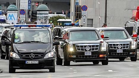 The Beast (keskellä) Varsovassa aiemmin tänä vuonna.