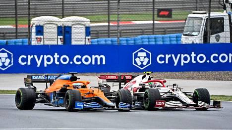 F1-sarjan ensi kauden kilpailukalenteri julkaistiin. Kuva tämän kauden Turkin GP-kisasta.