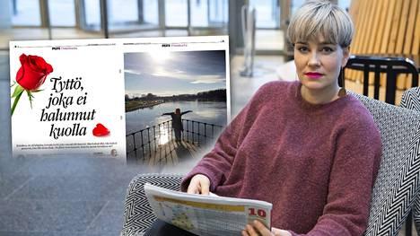 – Tämä rohkaisee muita hakeutumaan avun pariin, Mieli ry:n Anniina Pesonen sanoo artikkelista, jonka Ilta-Sanomat julkaisi lauantaina.