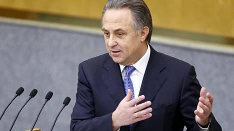 Venäjän urheiluministeri Vitali Mutko.