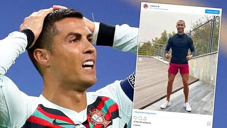 Ronaldo yllätti fanejaan uudella hiustyylillään.