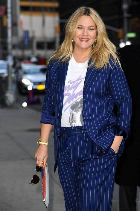 Drew Barrymore on nykyisin kahden lapsen äiti.