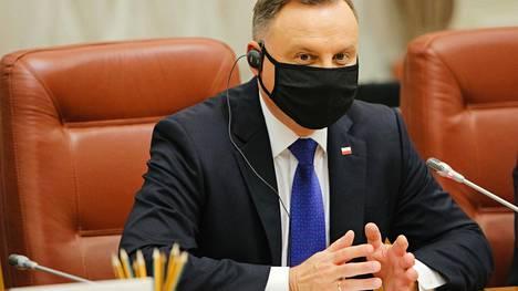 Andrzej Dudalla todettiin koronatartunta.