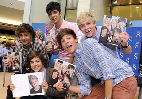 One Direction perustettiin vuonna 2010. Kuva vuodelta 2011.