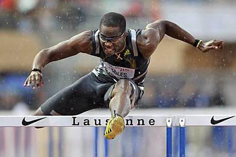Dayron Robles voitti vain niukasti pika-aidakisan Lausannessa.