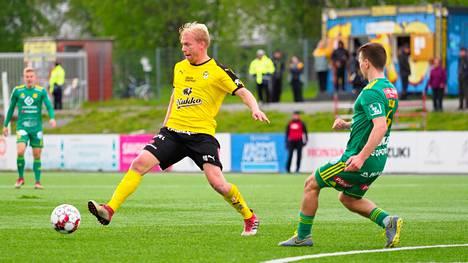 KuPSin Ville Saxman odottaa innolla Suomen cupin pudotuspelejä.
