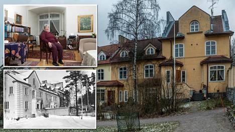 Helsingin Kulosaaressa sijaitsevan Ribbinginhovin ulkomuoto on säilynyt samanlaisena sata vuotta.