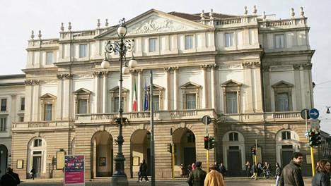 Milanon oopperataloa La Scalaa pidetään yhtenä maailman johtavista oopperaa ja balettia esittävistä teattereista.