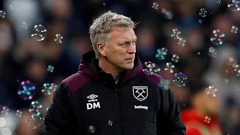 David Moyes valmensi West Hamia viimeksi toissa kaudella.