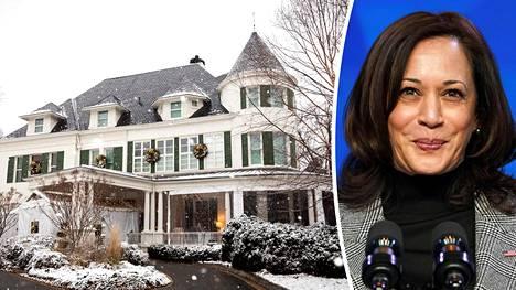 Tänne Kamala Harris muuttaa puolisonsa kanssa, kun Harrisista tulee Yhdysvaltain varapresidentti 20. tammikuuta.