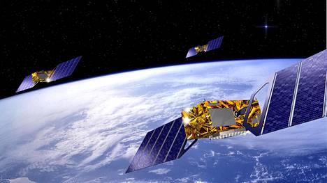 Euroopan Galileo-satelliittipaikannuksen on tarkoitus kilpailla Yhdysvaltojen gps:n, Venäjän Glonassin ja Kiinan Beidoun kanssa.