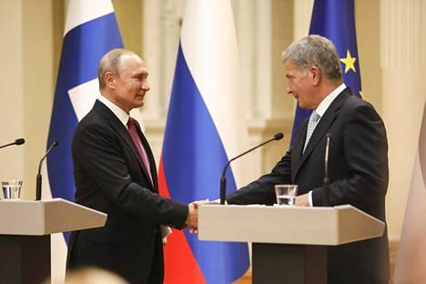 Venäjän presidentti Vladimir Putin vieraili Suomessa viime elokuussa.