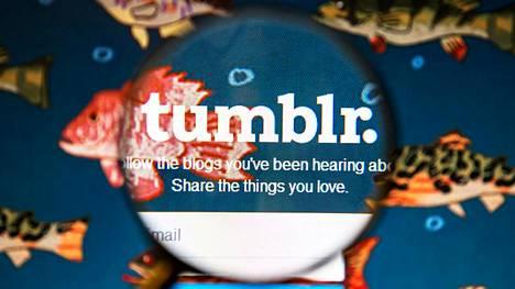 Mikroblogipalvelu Tumblrin kävijämäärä putosi pornokiellon jälkeen.