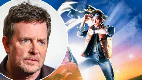 Michael J. Fox astui Marty McFlyn rooliin vuonna 1985.