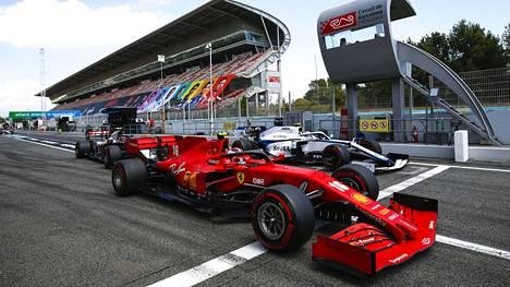 Ferrarit ovat kaasutelleet F1-sarjassa koko lajin historian, aina vuodesta 1950.