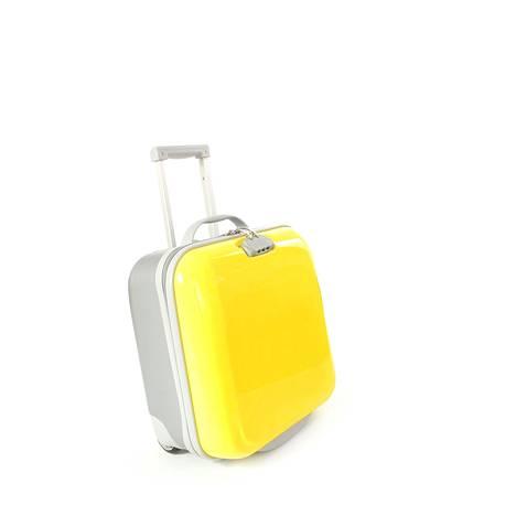 Valitse kovapintainen ja värikäs matkalaukku, jos pelkäät luteita.